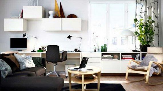 living y escritorio