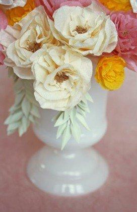 Cómo Hacer Flores De Papel O Tela ðecoraideas