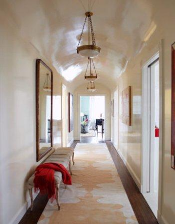 Decorar pasillos o corredores 20 fotos e ideas modernas - Espejos para pasillos ...