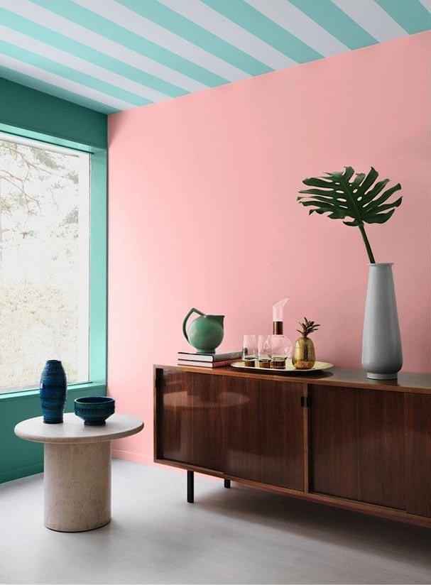 Colores de moda para paredes e interiores 2018 decora ideas - Gamas de colores para pintar paredes ...