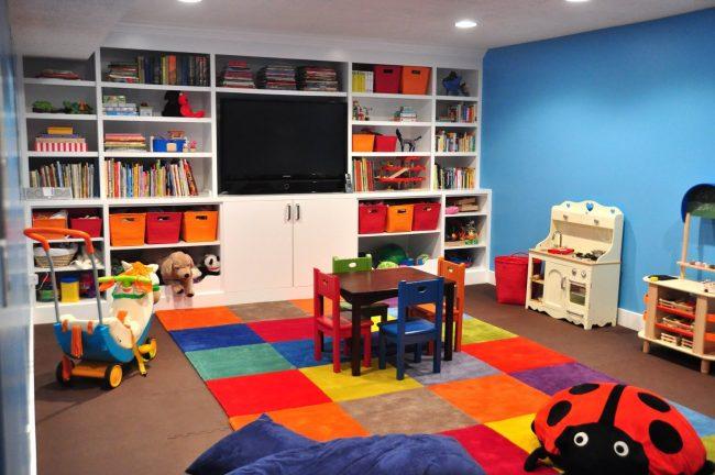 Cuarto de juegos para ni os 15 ideas f ciles y divertidas for Cuartos de ninos infantiles