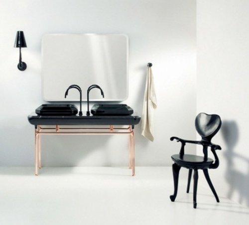 Baños Estilo Art Deco:Estilo Art Deco para el baño