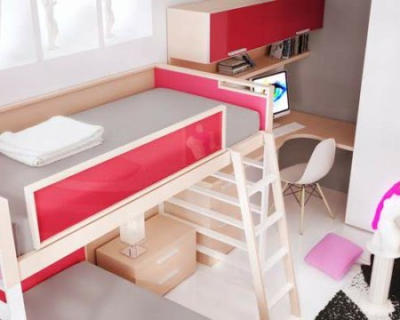 dormitorios juveniles femeninos