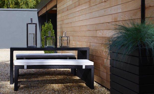 Jardines modernos 60 fotos e ideas de dise o de patios for Decoracion de jardines y muros exteriores