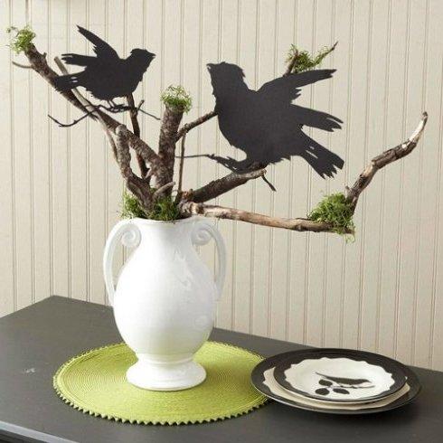 Decoraci n para halloween 2016 60 fotos e ideas baratas for Centros de mesa para halloween