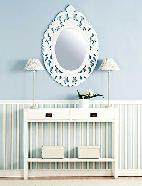 Espejos decorativos 50 fotos e ideas de decoraci n - Espejos pequenos decorativos ...