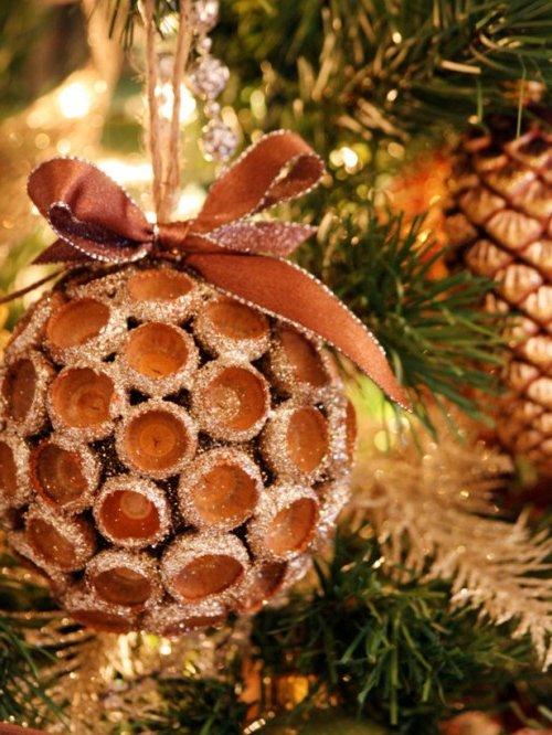 Adornos navide os 2017 2018 ecoraideas - Adornos para arbol de navidad caseros ...