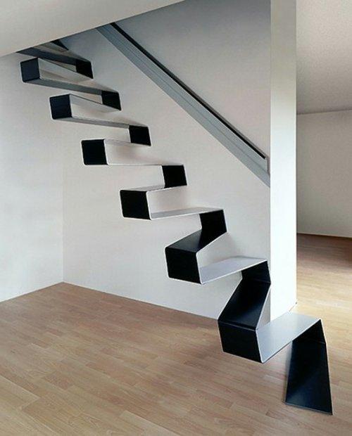 Escaleras modernas 50 fotos e ideas ecoraideas for Imagenes de gradas