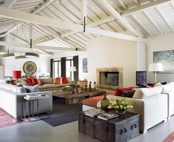 Casas r sticas 50 ideas y fotos de decoraci n for Casas rusticas interiores decoracion