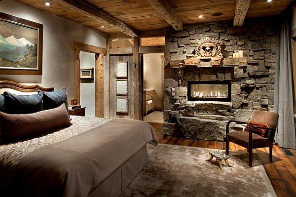 Casas r sticas 50 ideas y fotos de decoraci n decora ideas - My place salon de the ...