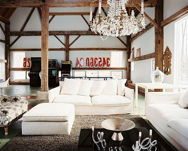 Casas r sticas 50 ideas y fotos de decoraci n ecoraideas - Decoracion de interiores rustico moderno ...