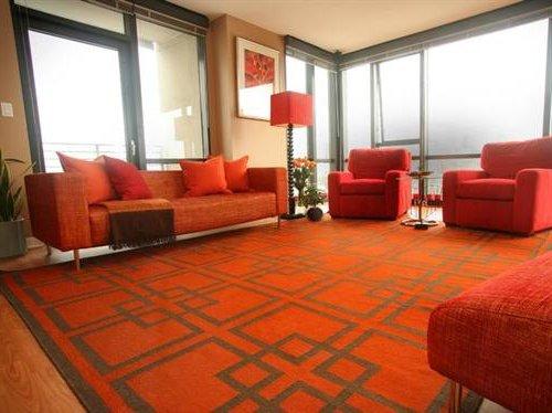 Salones en naranja calidez y energ a decora ideas - Combinar color naranja decoracion ...