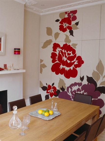 Papel decorativo paredes latest with papel decorativo for Papel decorativo pared dormitorio