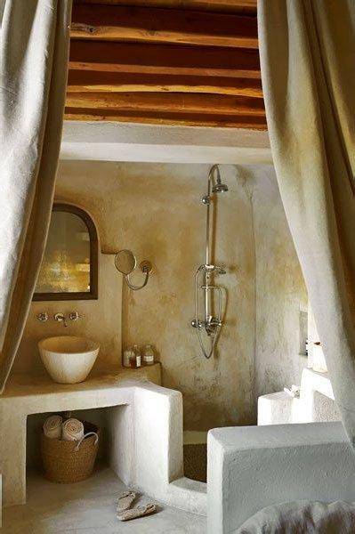 Casas de adobe modernas 25 fotos de interiores y exteriores - Fotos badezimmergestaltung ...