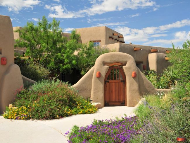 Casas de adobe modernas 25 im genes de interiores y for Casas modernas y lujosas fotos