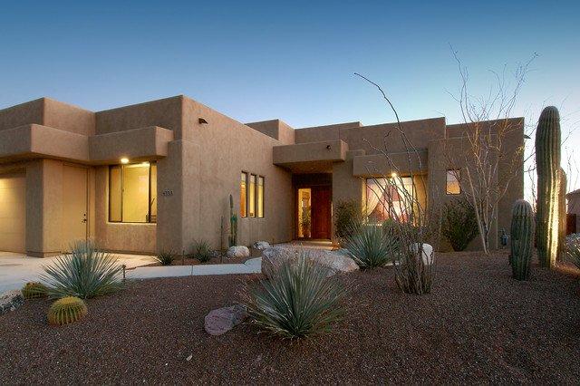 Casas de adobe modernas 25 fotos de interiores y exteriores for Construcciones modernas