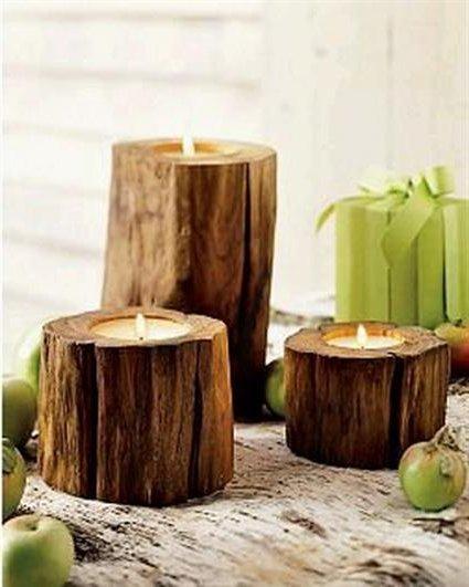 Decoracion con troncos de madera pictures to pin on pinterest pinsdaddy - Tronco madera decoracion ...