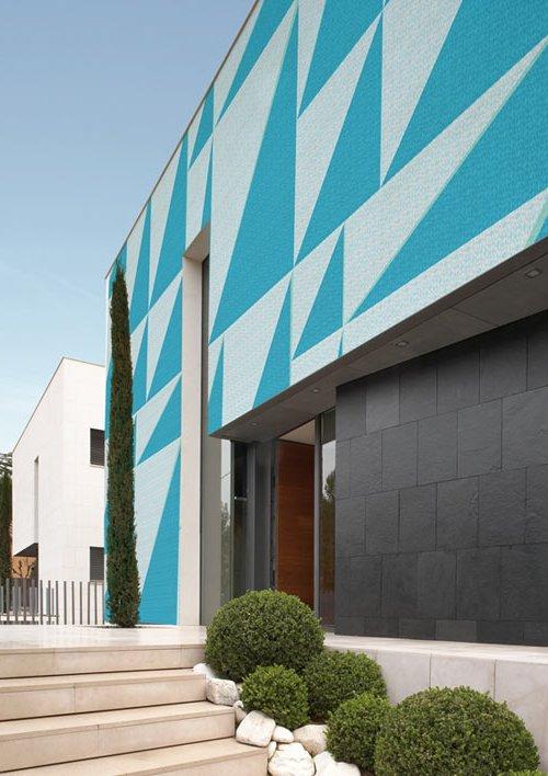 Papel de pared para exteriores