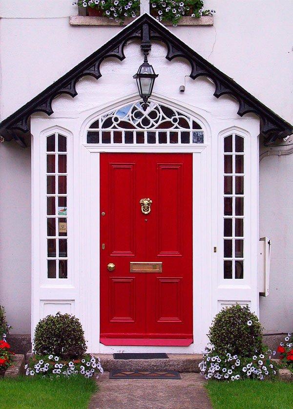 Puertas principales qu color elegir 60 fotos ecoraideas for Colores para puertas exteriores