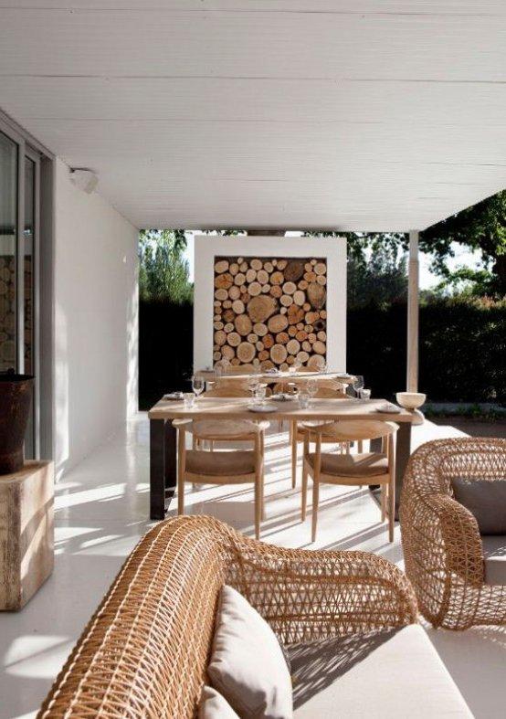 Casas Rusticas 50 Ideas Y Fotos De Decoracion Decoraideas - Techos-rusticos-interiores
