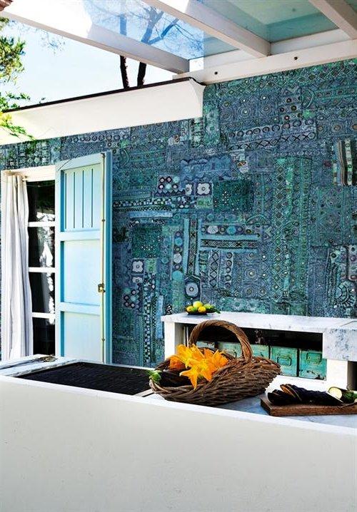 papel de pared para exteriores ecoraideas On papel para techos exteriores