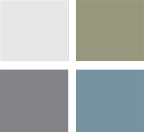 Colores para pintar un sal n for Colores que combinan con gris claro