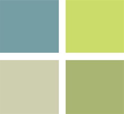 Colores para pintar el sal n combinaciones modernas - Combinacion de colores para salon ...