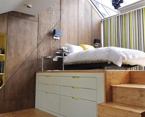 Dormitorios peque os 20 im genes y consejos de decoraci n - Aprovechar espacio dormitorio ...