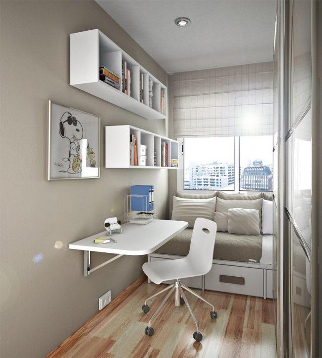 el color blanco puede funcionar bien en un dormitorio pequeo pero ten cuidado con el blanco rgido ya que puede hacer que cualquier habitacin se sienta