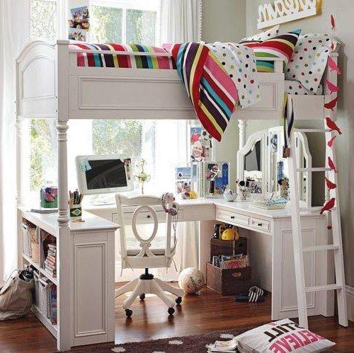 Dormitorios juveniles peque os 40 fotos e ideas decora ideas for Camas para habitaciones juveniles