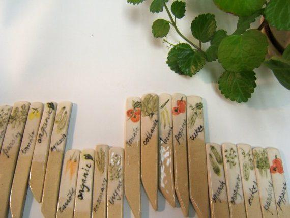 indicadores de cosecha hechos a mano