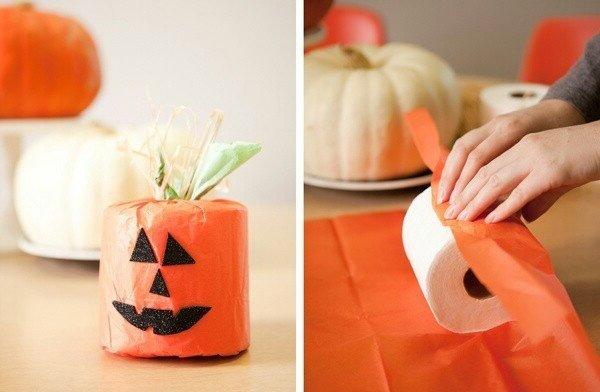 Manualidades para halloween 2018 3 ideas f ciles y baratas - Calabazas de halloween manualidades ...
