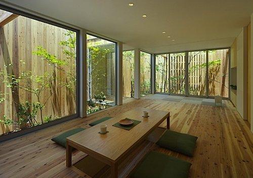 Jardines interiores modernos 25 fotos y consejos de dise o - Imagenes de salones de casas ...