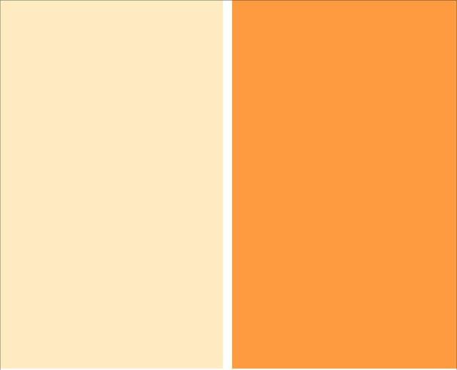 Color naranja en decoraci n moderna decora ideas for Colores suaves para paredes