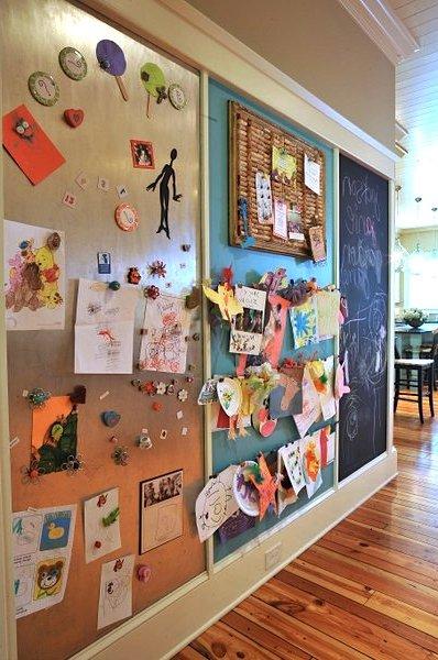 pared arte niños