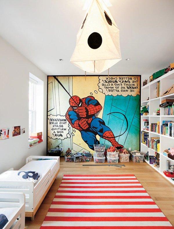 spiderman dormitorio+