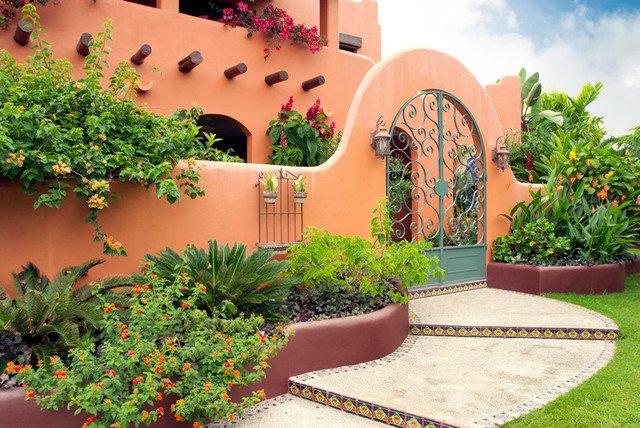 Jardines mexicanos 30 im genes e ideas para inspirarse for Casa y jardin mexico