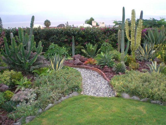 Jardines mexicanos 30 im genes e ideas para inspirarse for Imagenes de jardines con estanques