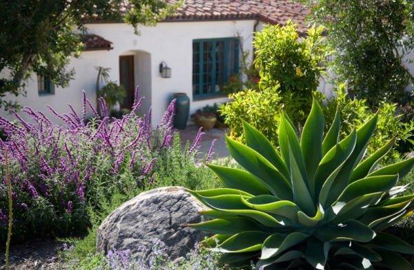 Jardines mexicanos 30 im genes e ideas para inspirarse - Plantas tropicales para jardin ...