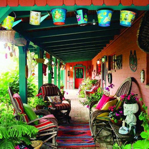 Jardines mexicanos 30 im genes e ideas para inspirarse for Decoracion de interiores estilo mexicano