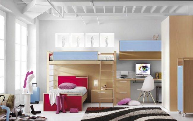 Dormitorios juveniles 40 fotos e ideas de decoraci n - Habitaciones juveniles para chicos ...