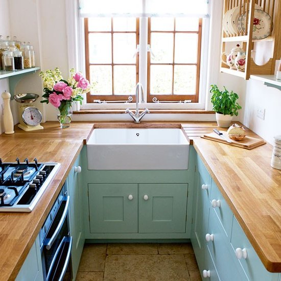 17 Cute Small Kitchen Designs: Decoración Y Diseño De Interiores De Casas Pequeñas