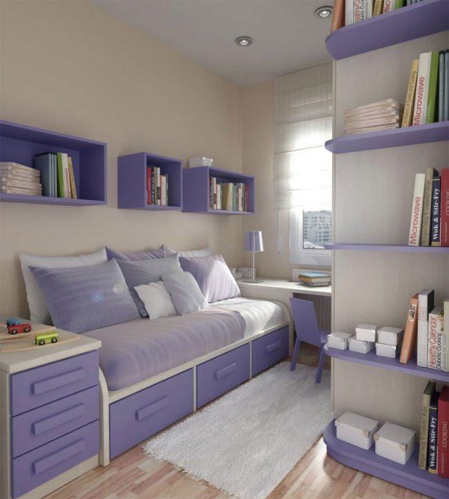 Dormitorios juveniles peque os 40 fotos e ideas ecoraideas - Soluciones para dormitorios pequenos ...
