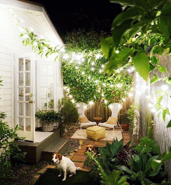 Jardines peque os 70 fotos e ideas ecoraideas for Decoracion de jardines con piedras y madera