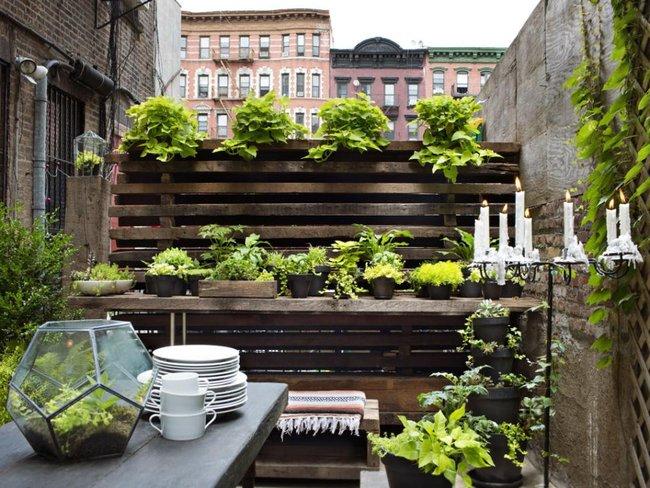 jardines peque os 70 fotos e ideas ecoraideas. Black Bedroom Furniture Sets. Home Design Ideas