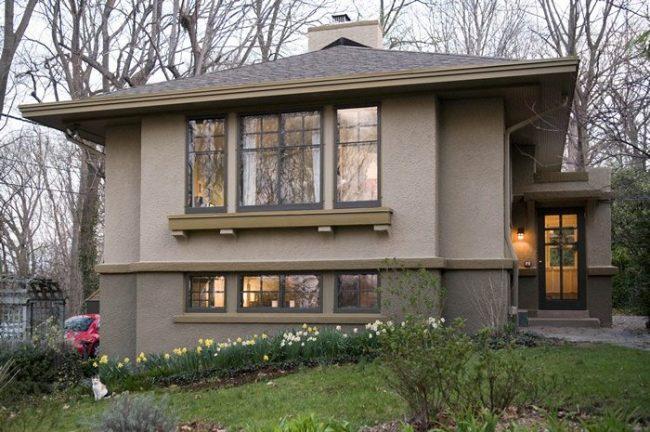 Colores para exteriores y fachadas 2017 30 fotos de for Colores para pintar paredes exteriores casa