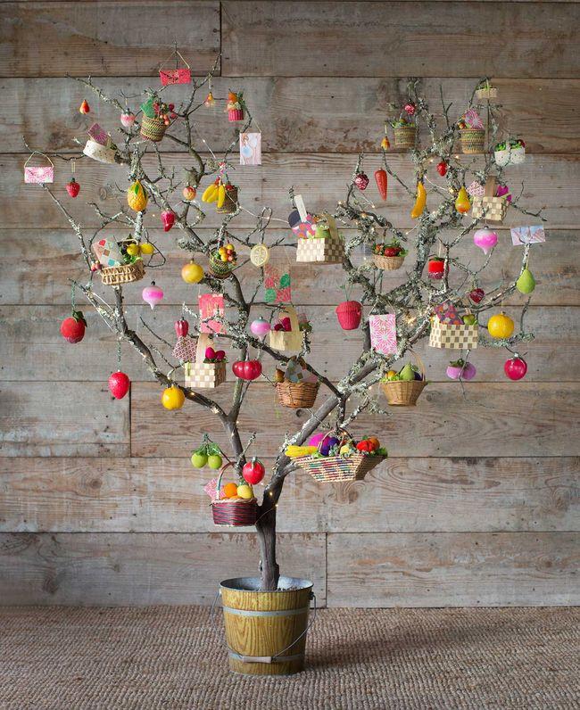Decoraci n de rboles de navidad 2018 2019 ecoraideas - Decoracion con ramas de arboles ...