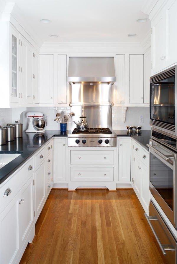 Cocinas peque as modernas 2017 de 100 fotos e ideas - Fotos de cocinas pequenas y modernas ...