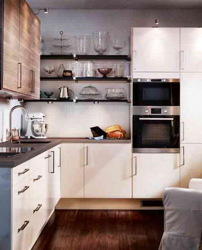 Genial cocinas peque as alargadas fotos mas de 100 fotos - Cocinas modernas pequenas alargadas ...