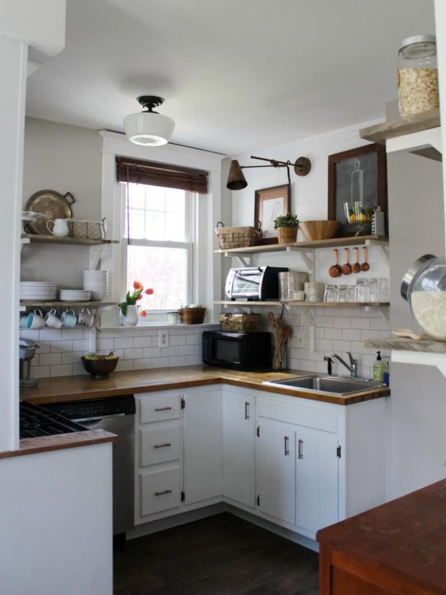 Cocinas peque as modernas 2019 2018 de 150 fotos e ideas for Cocinas pequenas con lavadero